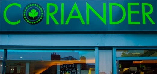 Best curry in Manchester: www.corianderrestaurant.co.uk
