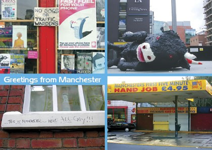 A postcard from Manchester
