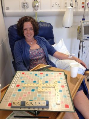 Scrabble is a great distraction from chemo